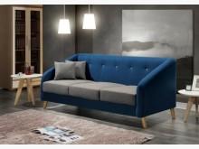 [全新] 圖森三人座布沙發特價12900多件沙發組全新