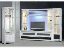 [全新] 貝斯特10尺半白色酒櫥 桃園免運高低櫃全新