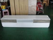 [9成新] A41904白色七尺電視櫃電視櫃無破損有使用痕跡