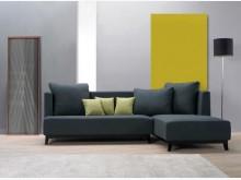 [全新] 梅森L型布沙發組左特價27500L型沙發全新