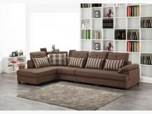 [全新] 藍迪L型布沙發組右特價26900L型沙發全新