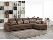 [全新] 藍迪 L型布沙發左特價26900L型沙發全新