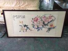 非凡二手家具 六尺 水墨 字畫收藏擺飾無破損有使用痕跡