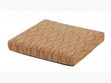 [全新] 條紋咖啡緹花布坐墊 滿10片免運木製沙發全新
