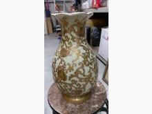 [9成新] 鑫勝2手-金花瓶收藏擺飾無破損有使用痕跡