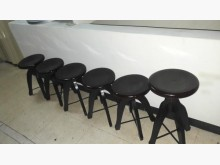 [全新] 全新可升降原木圓凳6張一組其它桌椅全新