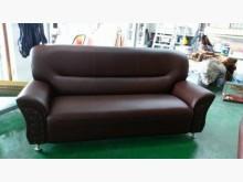 [全新] 全新咖啡色彈簧座墊三人沙發多件沙發組全新
