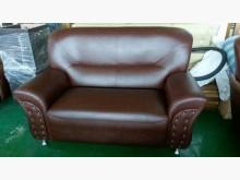[全新] 全新咖啡色彈簧座墊二人沙發雙人沙發全新