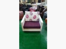 [9成新] A62706紫色單人布沙發單人沙發無破損有使用痕跡