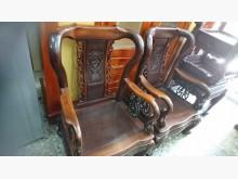 [8成新] 老傢俱雞翅木戰國椅客廳10件組椅子有輕微破損
