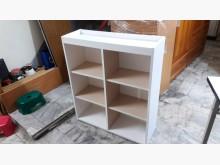 [全新] 全新手工實木白色收納櫃.4千免運收納櫃全新