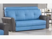 [全新] 藍天使貓抓皮三人沙發 桃園區免運雙人沙發全新