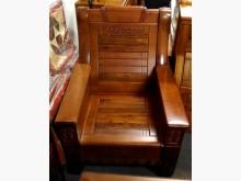[全新] 吉得堡香樟木單人木椅 桃園區免運木製沙發全新