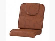 [全新] 頭枕型土黃雲彩皮椅墊 滿7片免運木製沙發全新