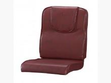 [全新] 頭枕型酒紅雲彩皮椅墊 滿7片免運木製沙發全新