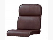 [全新] 深咖啡色雙凸皮椅墊 滿7片免運費木製沙發全新