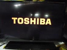 [8成新] 東芝32吋LED色彩鮮艷畫質清晰電視有輕微破損