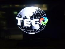 [8成新] 東元42吋LED畫質優 色彩鮮艷電視有輕微破損