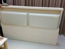 [95成新] 新北市汐止佳佳二手6呎床頭片床頭櫃近乎全新