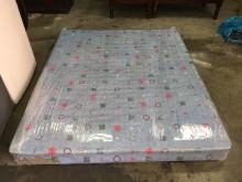 非凡二手家具 標準雙人5尺彈簧床雙人床墊無破損有使用痕跡