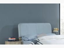 [全新] 約翰5尺厚切木紋床頭片床頭櫃全新