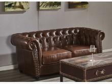 [全新] 布魯克美式雙人皮沙發雙人沙發全新