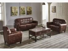 [全新] 奧斯卡仿舊布沙發~不含茶几可拆買多件沙發組全新