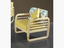 [全新] 肯特本色實木單人椅單人沙發全新