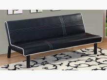 [全新] 艾咪黑皮沙發床沙發床全新