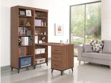 [全新] 麥納得淺胡桃L型書櫃桌13000書桌/椅全新