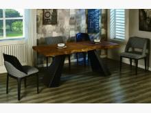 [全新] 史瓦龍6.6尺原木餐桌餐桌全新