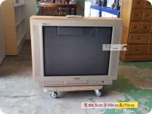 聲寶34吋轟天雷全平面彩色電視電視有輕微破損