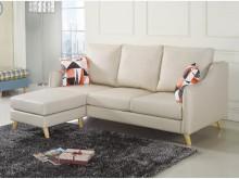 [全新] 喬特斯貓抓皮L型沙發組L型沙發全新
