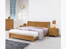 [全新] 艾莉絲柚木6尺床台$21600雙人床架全新