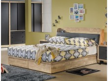 [全新] 天閣工業風5尺抽屜床組雙人床架全新