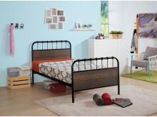 [全新] 克森工業風3.5尺鐵床台單人床架全新