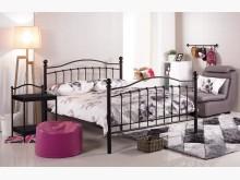[全新] 凱特兒5尺黑色鐵床台雙人床架全新