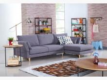 [全新] 小清新功能L型布沙發L型沙發全新