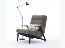 [全新] 墨爾休閒主人椅單人沙發全新