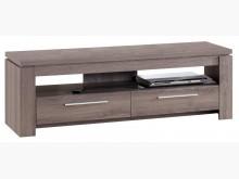 [全新] 歐登深木色5尺雙抽電視櫃電視櫃全新