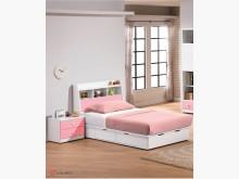 [全新] 粉紅童話單人床頭箱$5500單人床架全新