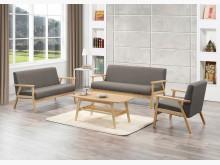 [全新] 亞克灰色布沙發全組*不含茶几多件沙發組全新