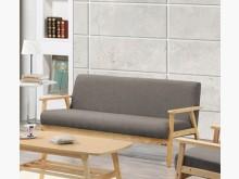 [全新] 亞克灰色三人布沙發雙人沙發全新