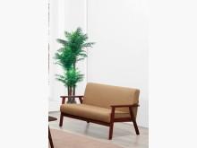 [全新] 亞克棕色二人布沙發雙人沙發全新