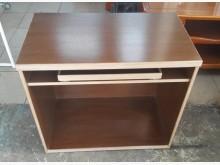 [8成新] E0112HJ 胡桃色電腦桌書桌/椅有輕微破損