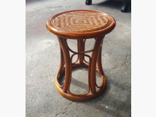 [8成新] E0116CJ1 藤編圓鼓椅書桌/椅有輕微破損