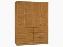 [全新] 喬森柚木色5x7尺衣櫥衣櫃/衣櫥全新