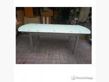 [全新] 樣品屋全新自動玻璃餐桌會議桌餐桌椅組全新