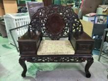 [8成新] IM204BJE雞翅木主人椅椅子有輕微破損
