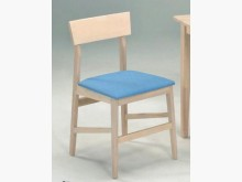 [全新] 淺田白橡木色餐椅 布紋皮坐墊餐椅全新